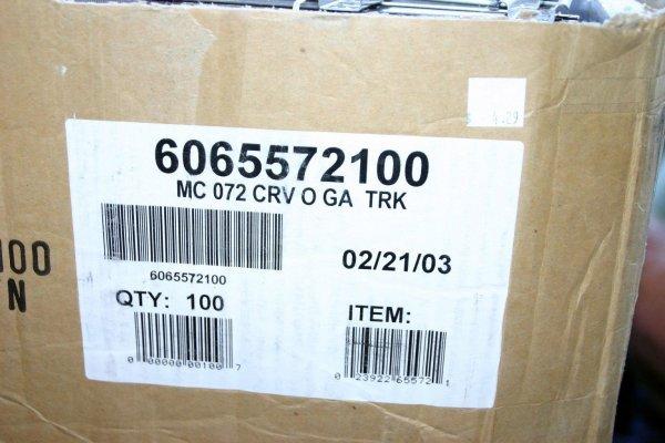 7: LIONEL 65572 072 CURVE TRACK. 100 PCS.  STOCK# :  65
