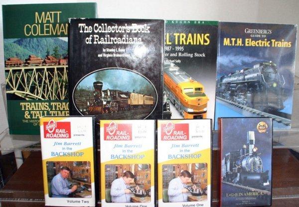 9: THE COLLECTORS BOOK OF RAILROADIANA, LIONEL TRAINS 1