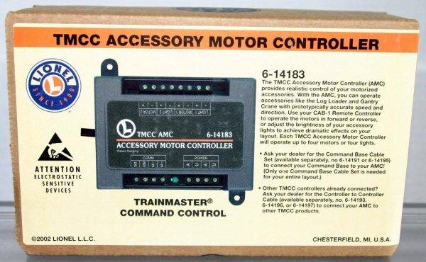16: LIONEL 14183 TMCC ACCESSORY MOTOR CONTROLLER.  STOC