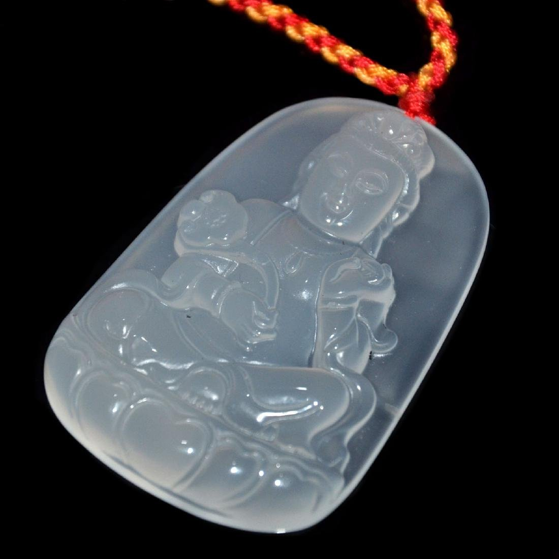 An Agate Pendant of General Guan,  An Agate Pendant of - 6