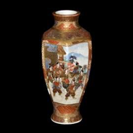 Meiji, Satsuma Miniature Vase