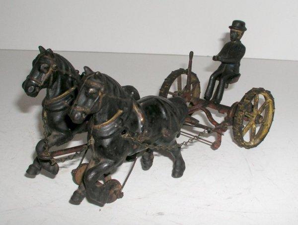 225: WILKINS HORSE-DRAWN SICKLE MOWER - 3