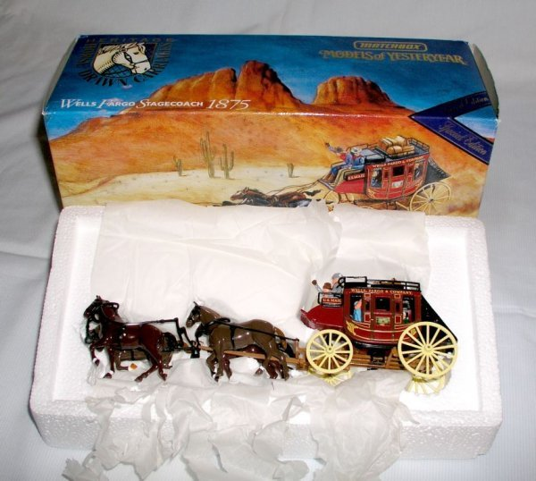 17: MATCHBOX SPECIAL EDITION WELLS FARGO 1875 STAGECOAC