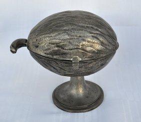 English Silver Etrog Box 1900's