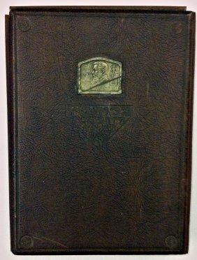 "Rare Monograph Boris Schatz Album ""life And Work"""