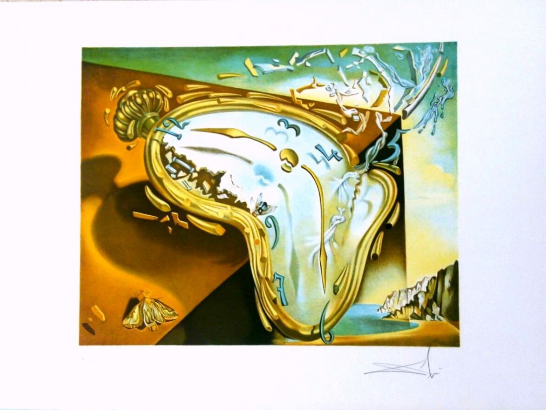 Salvador Dali Moment of First Explosion Soft watch