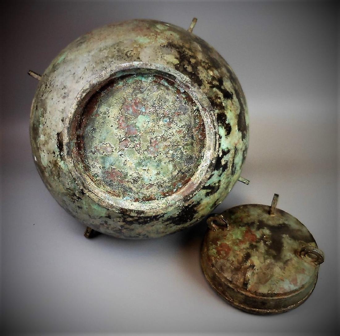 A Chinese archaic bronze fou - 5