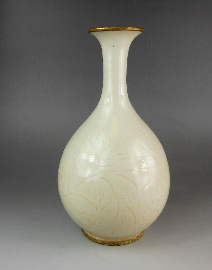 A Chinese Liaojin period Ding-yao white glazed