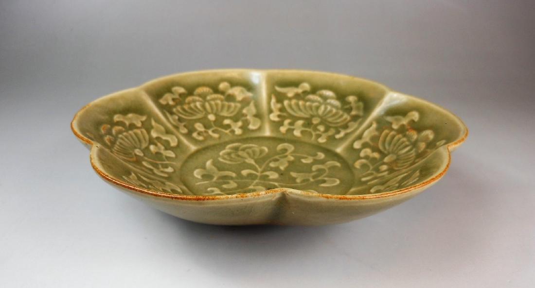 A Chinese Song period Yao-zhou yao celadon porcelain