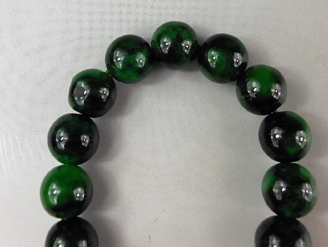 A Chinese jadeite bracelet - 2