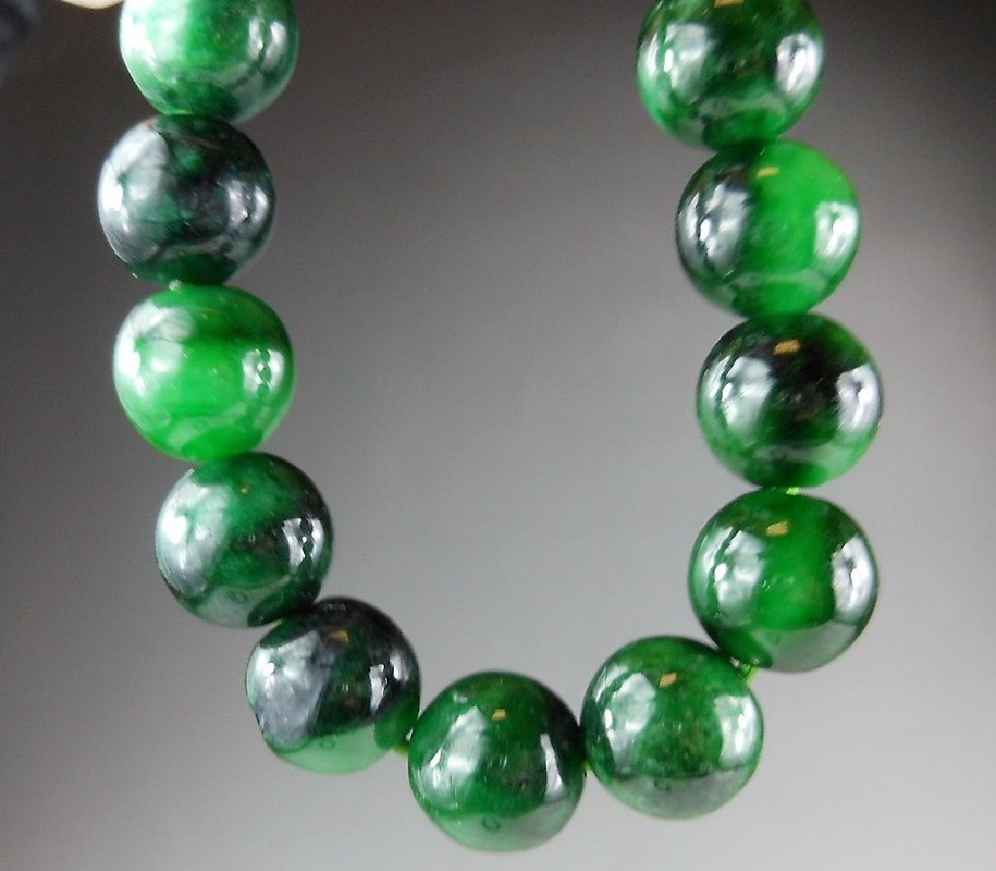 A Chinese jadeite bracelet - 3