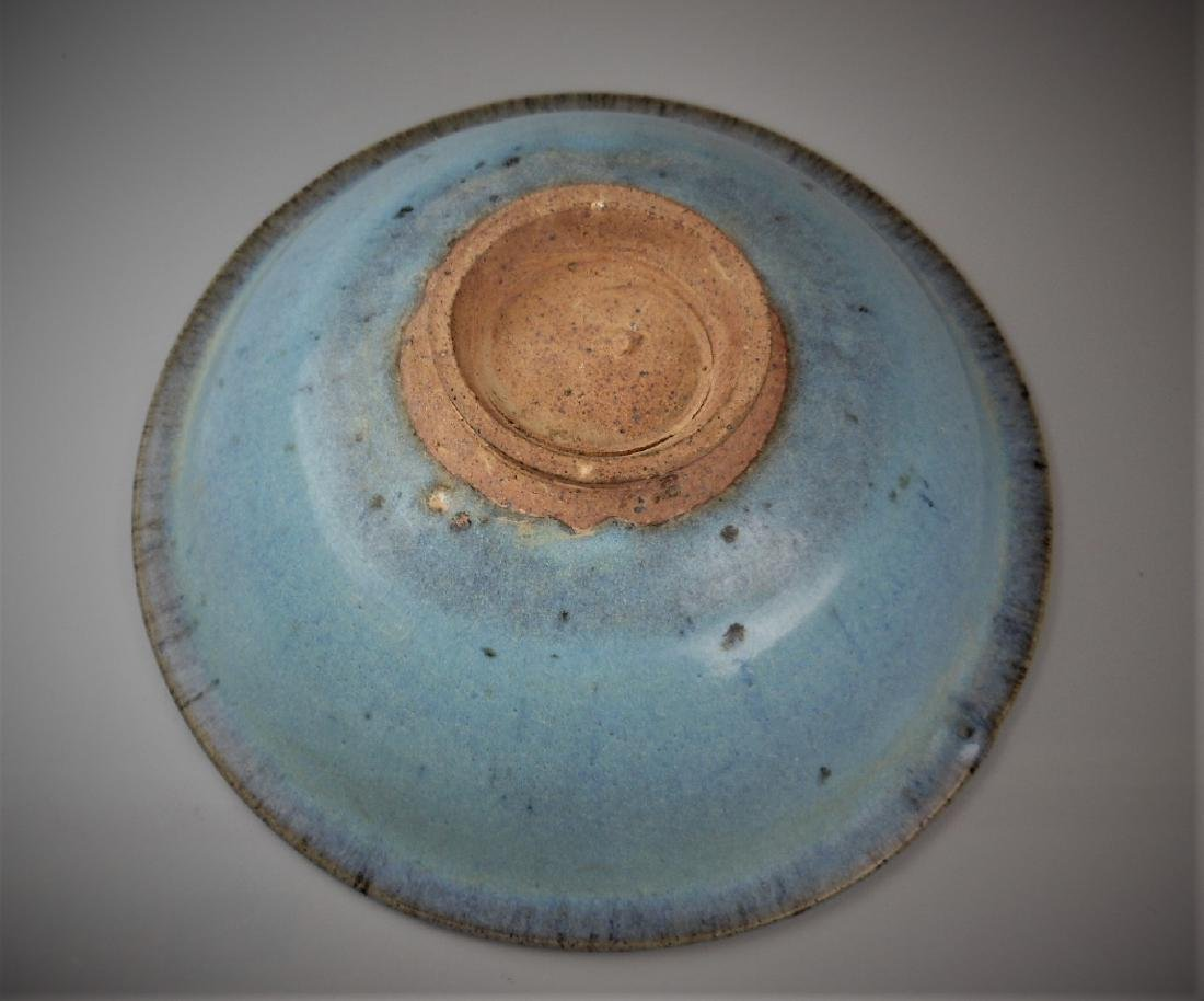 A Chinese Yuan dynasty Jun-yao porcelain bowl - 3