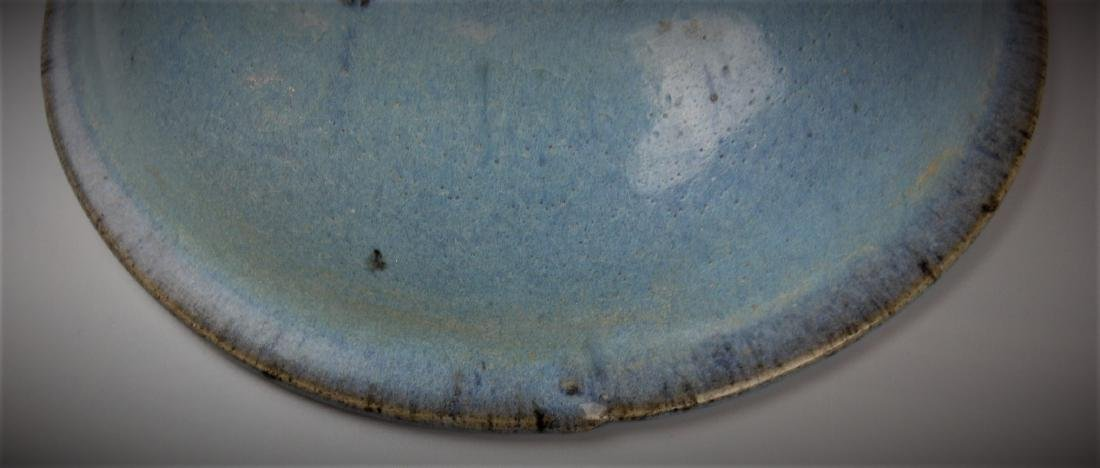 A Chinese Yuan dynasty Jun-yao porcelain bowl - 4