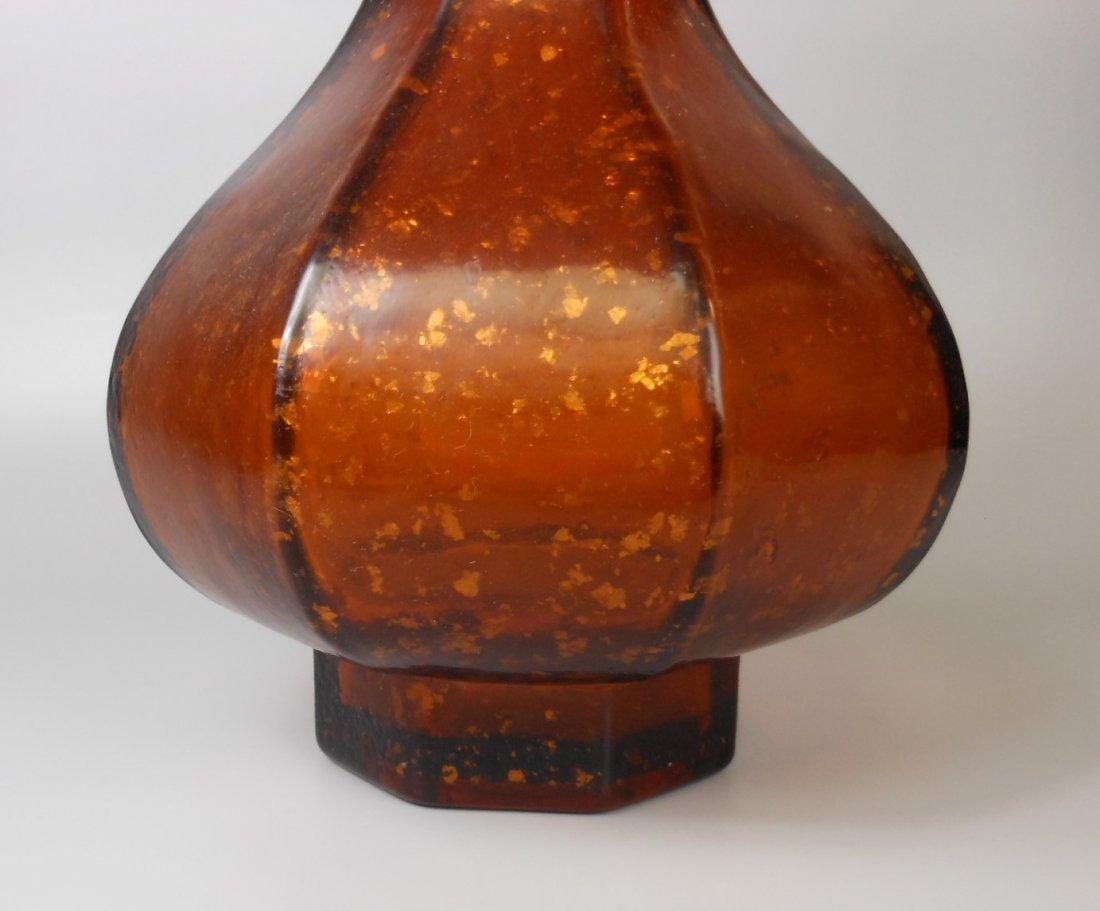 qing-dynasty Peking glass vase - 3