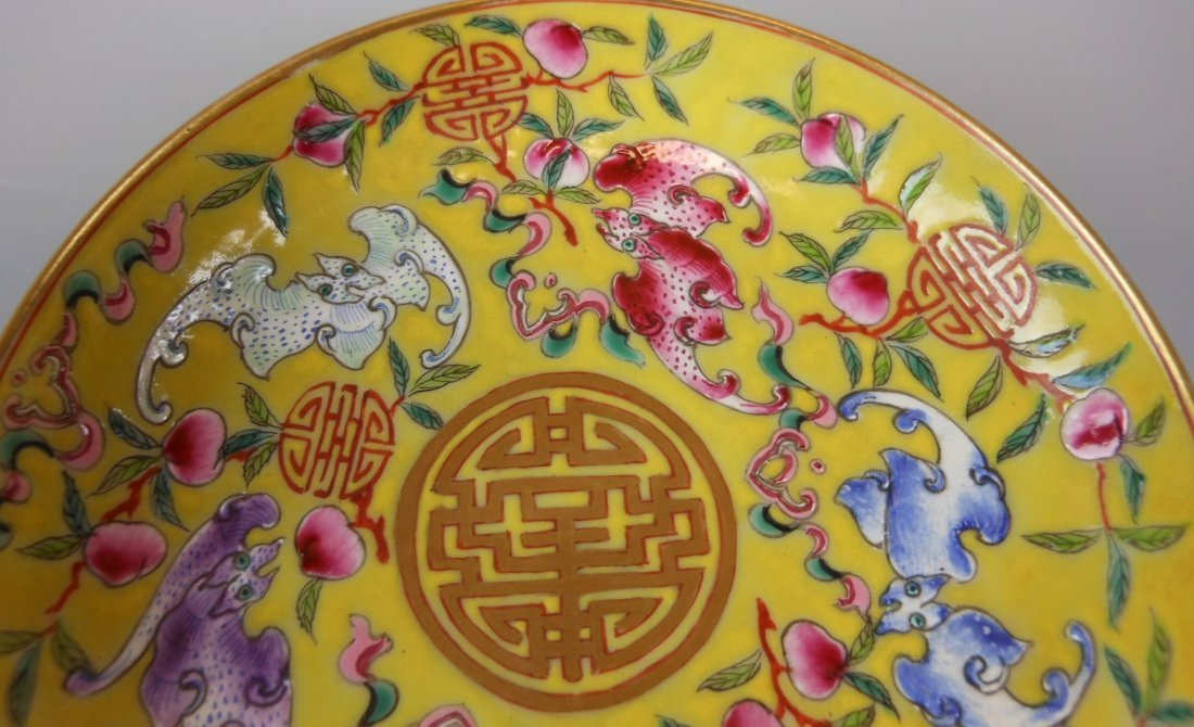 2 beautiful Chinese qing-dynasty porcelain plates - 4