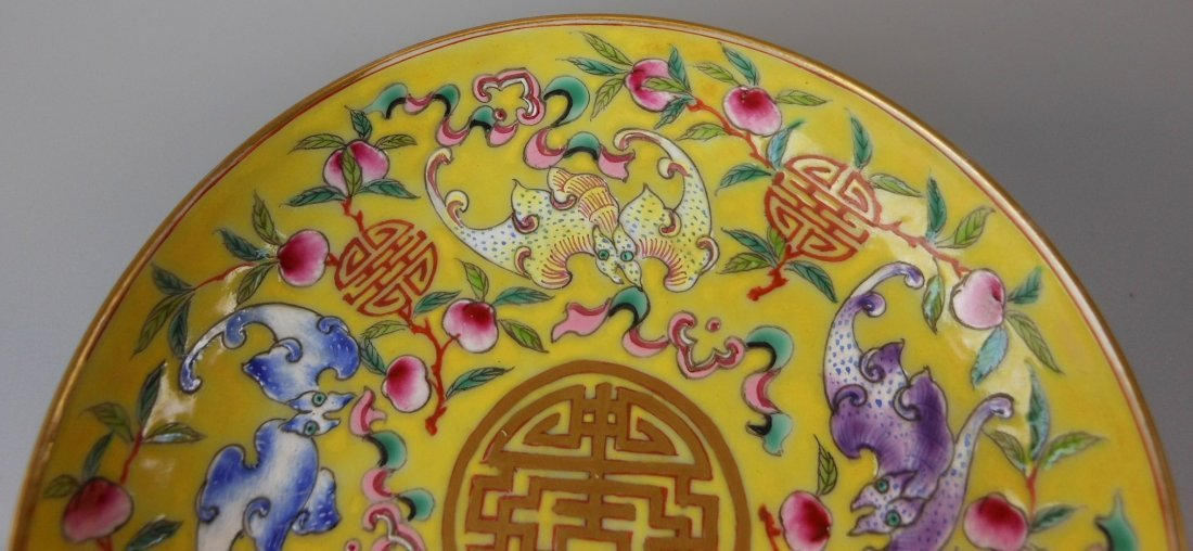 2 beautiful Chinese qing-dynasty porcelain plates - 5