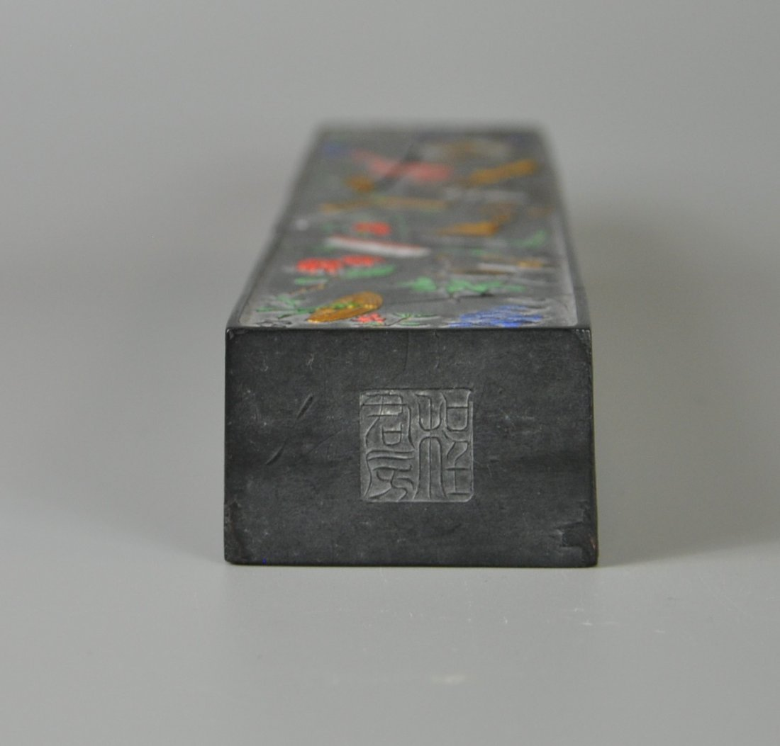 A Chinese antique ming-dynasty ink stick - 10