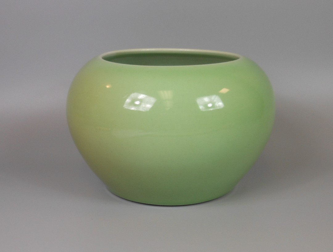 A Chinese celadon porcelain water dripper