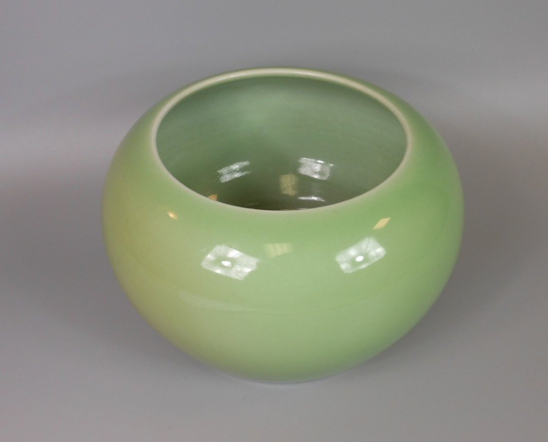 A Chinese celadon porcelain water dripper - 2