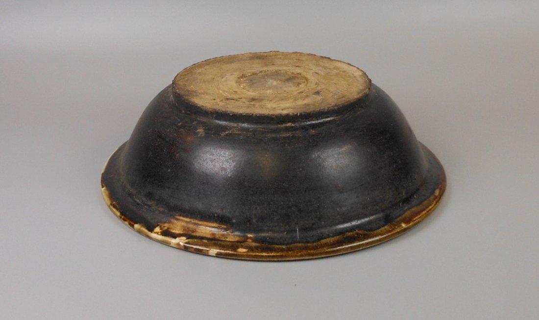 A Chinese yuan-dynasty cizhou-yao porcelain bowl - 4