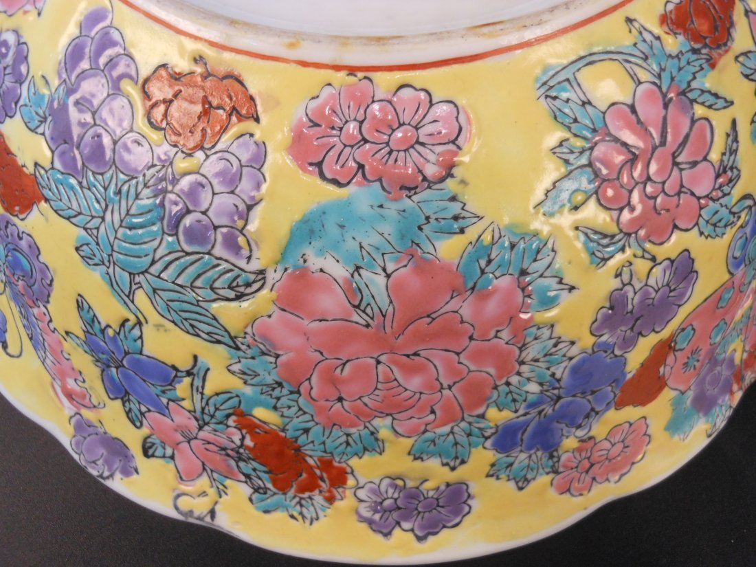 A Chinese famille rose porcelain bowl - 5
