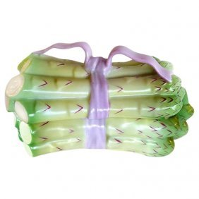 Herend Asparagus Covered Dish, 2pcs.