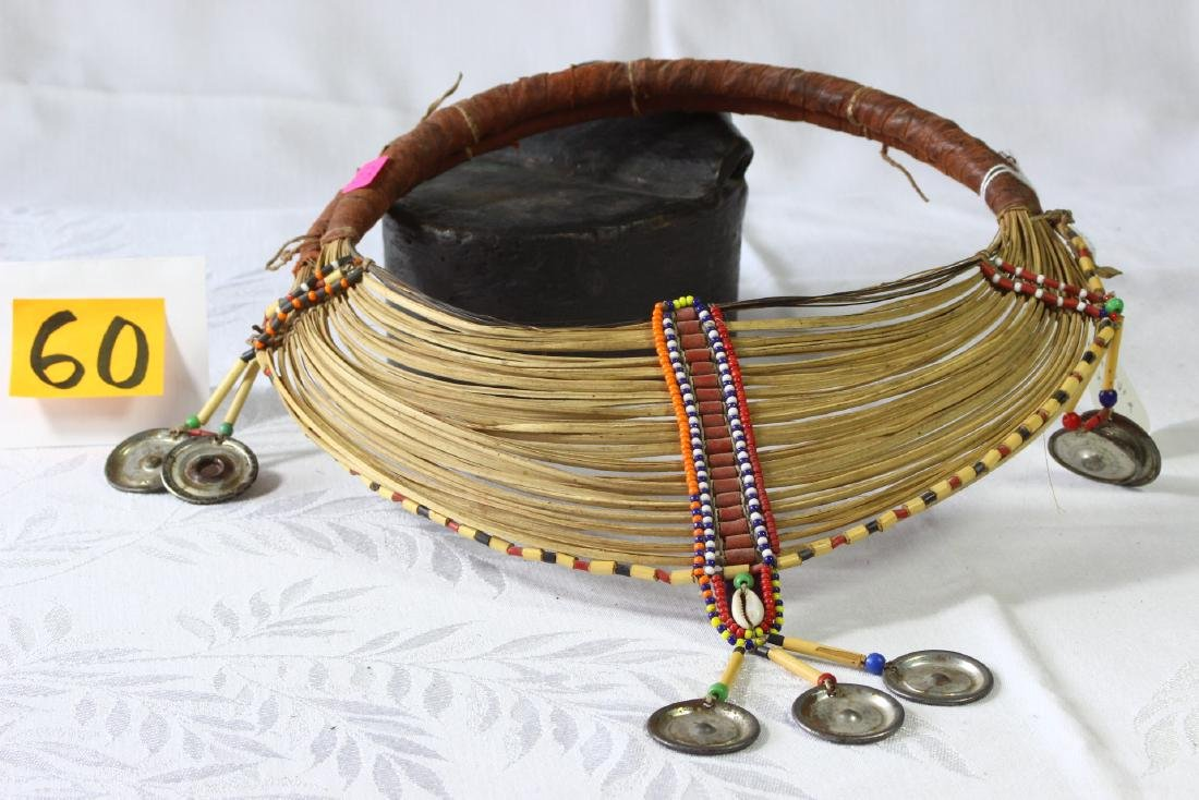 Samburu Kenya African Tribal Collar Necklace Beaded