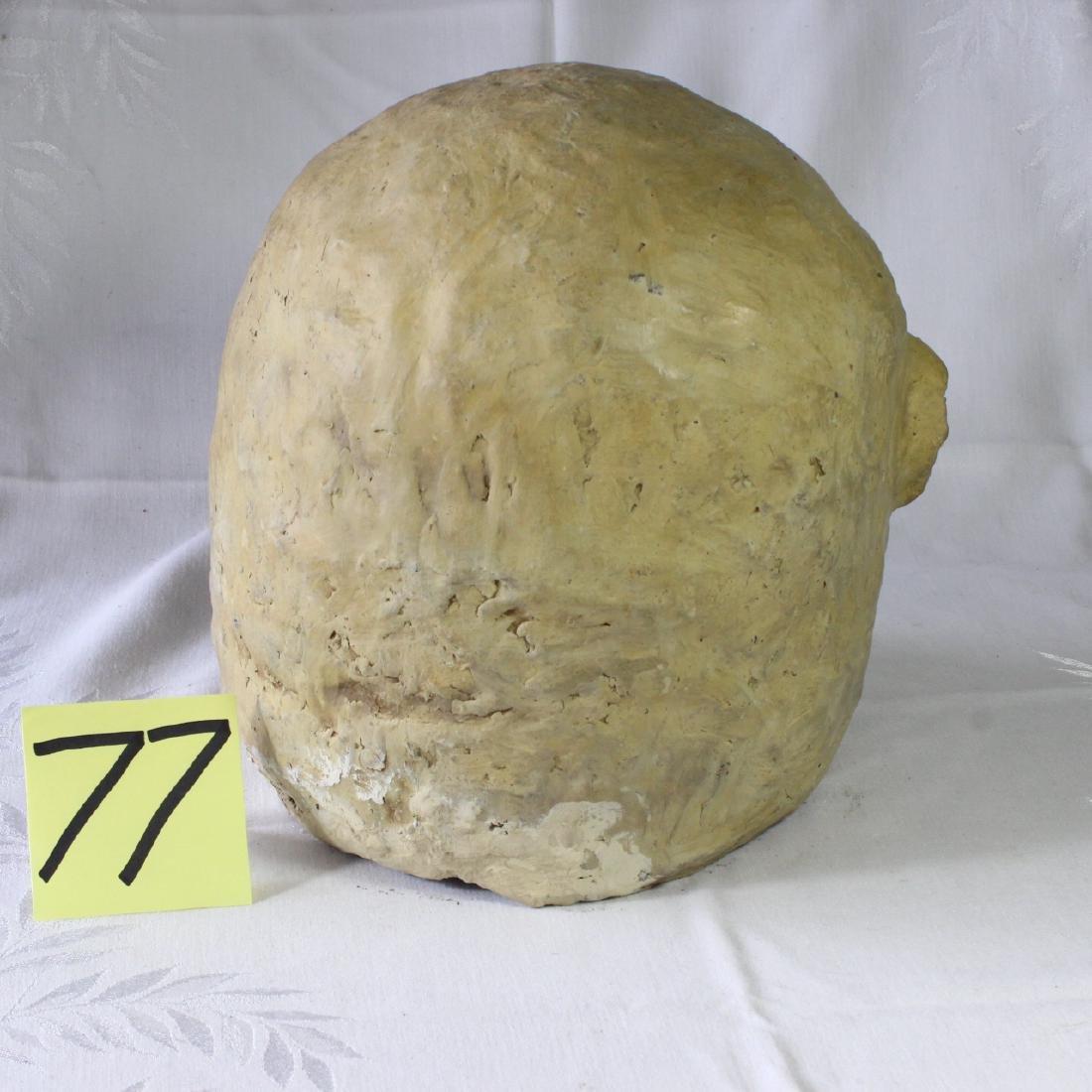 Papua New Guinea Asaro Mudmen Mud Mask Holosa Tusks - 4