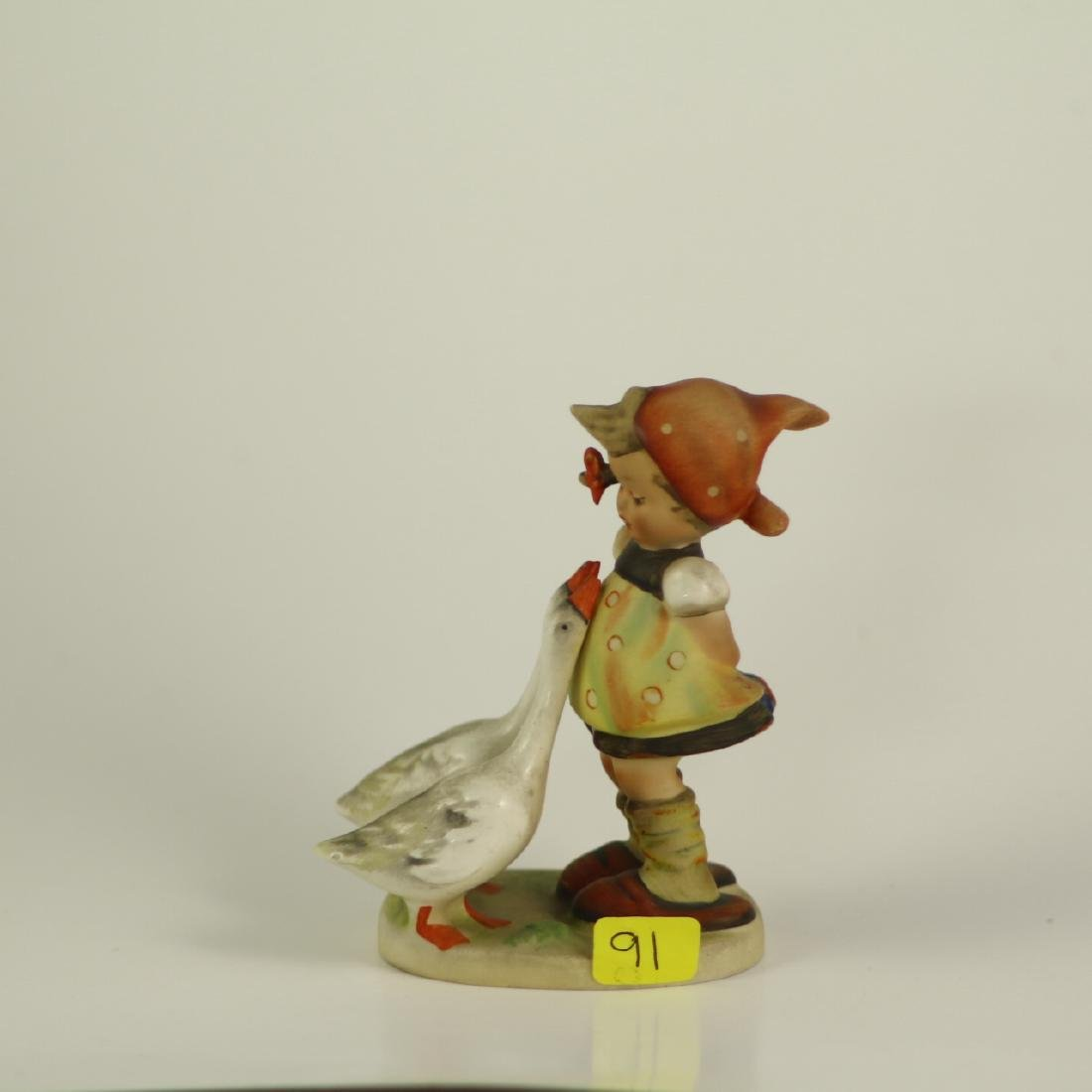 "Hummel Figurine 47 3/0 ""Goose Girl"" TMK 2 Full Bee"
