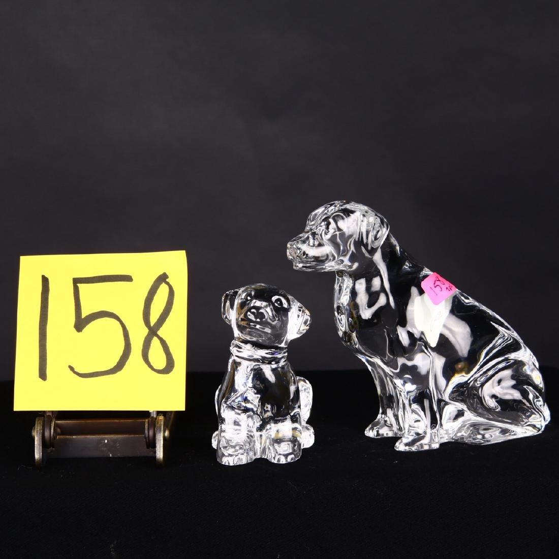 Waterford Crystal Dog Puppy Labrador Figurines
