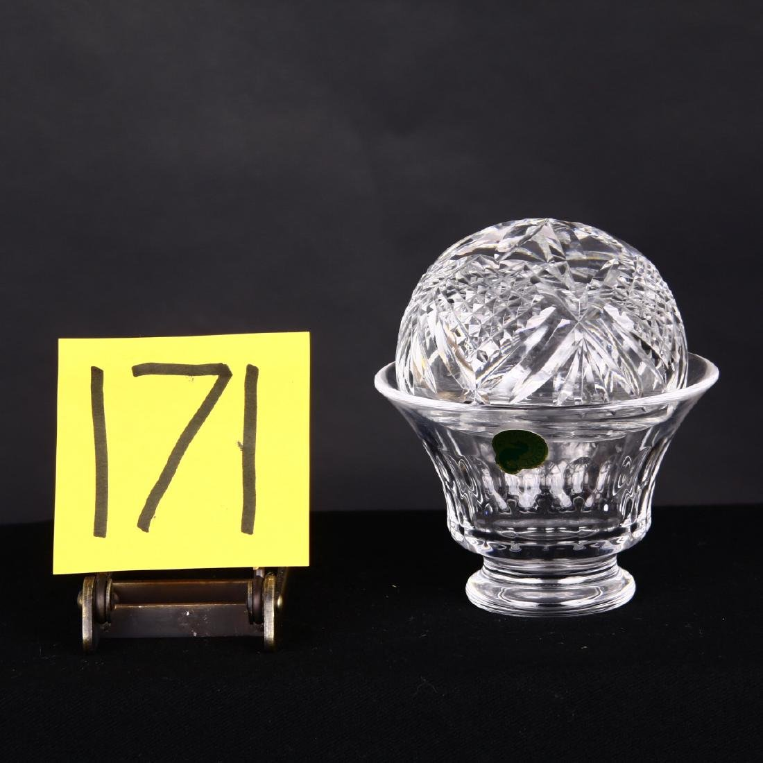 Waterford Bowl & Crystal Dome Paper Weight