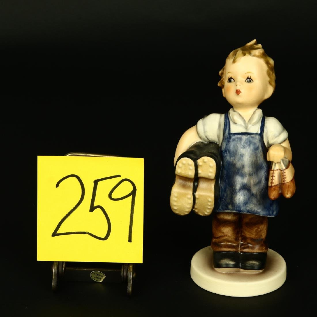 "Hummel Figurine #143/1 ""Boots"" TMK 6 Large 7"" Size"