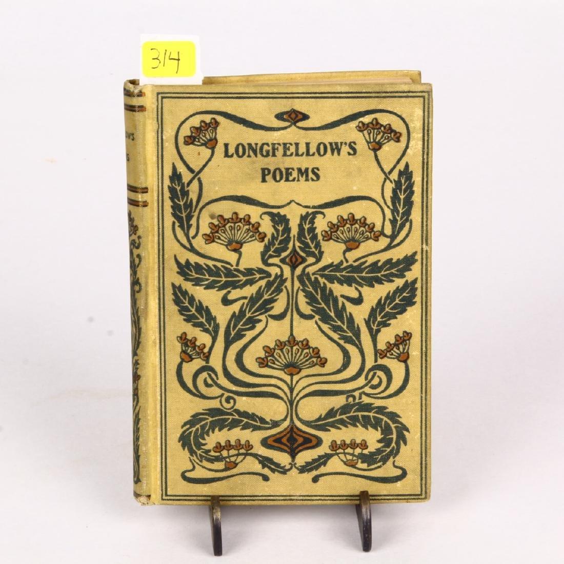 Vintage Book Longfellow's Poems