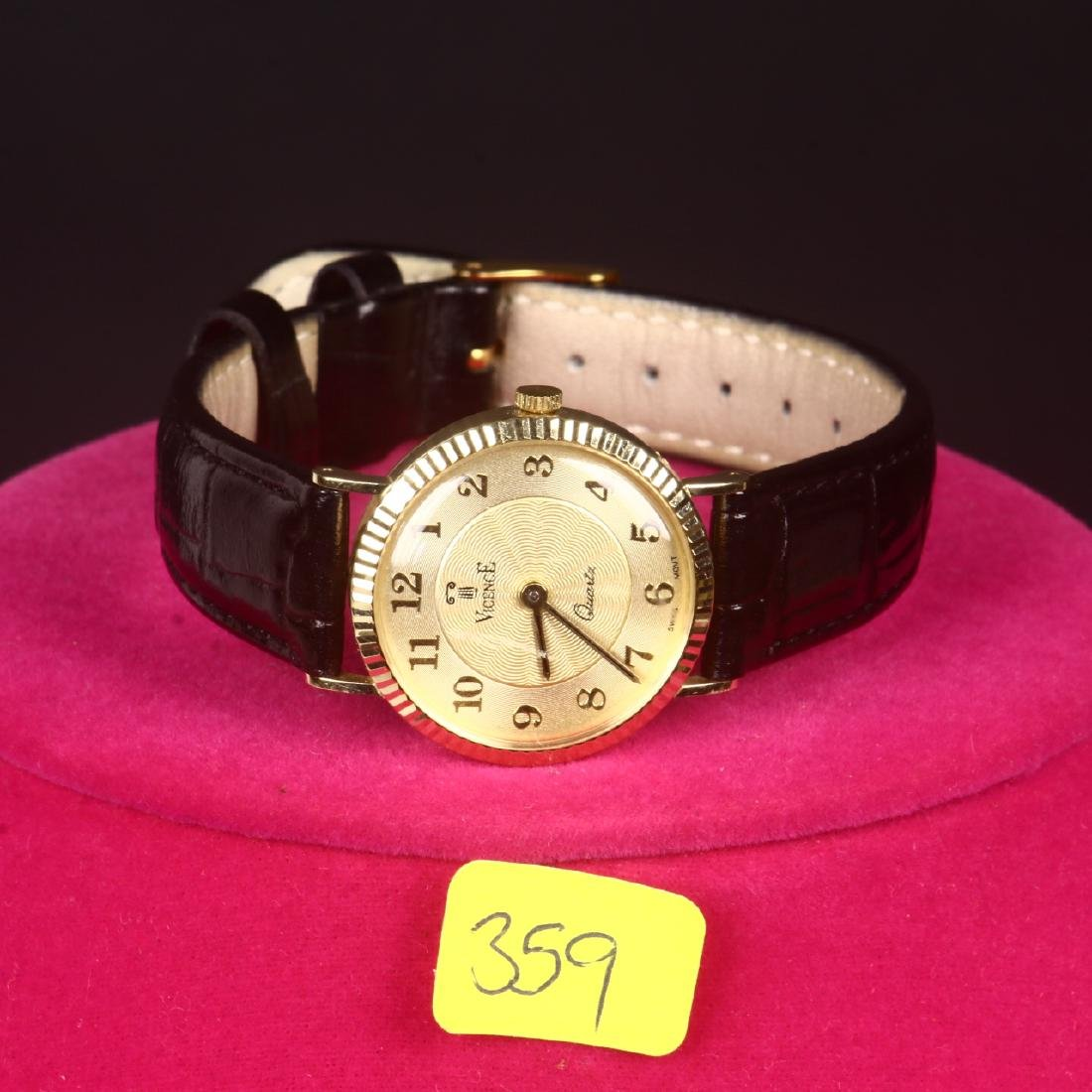 Milor Italy Vicence 14K Gold Ladies Watch
