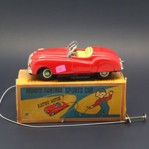 Vintage Marx Electric Remote Control Sports Car in Orig