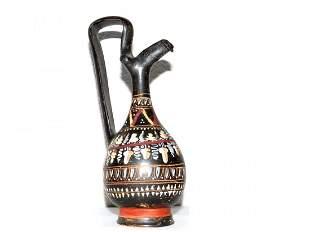 Greek Gnathia Pottery Prochous Jug .