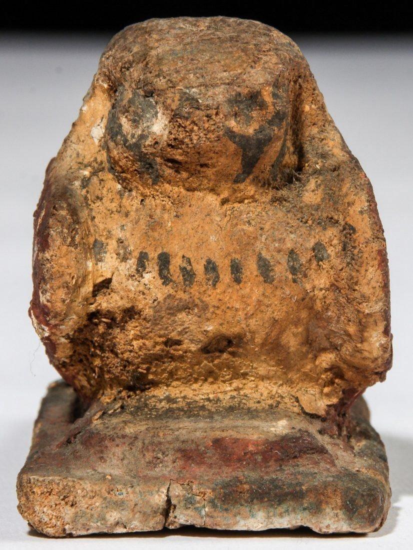 Ancient Egyptian Wood Falcon Horus. - 2