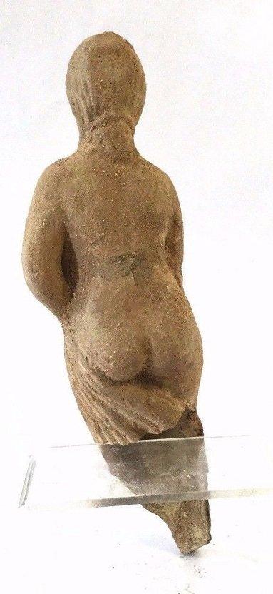 Large Roman terracotta statue of female . - 2
