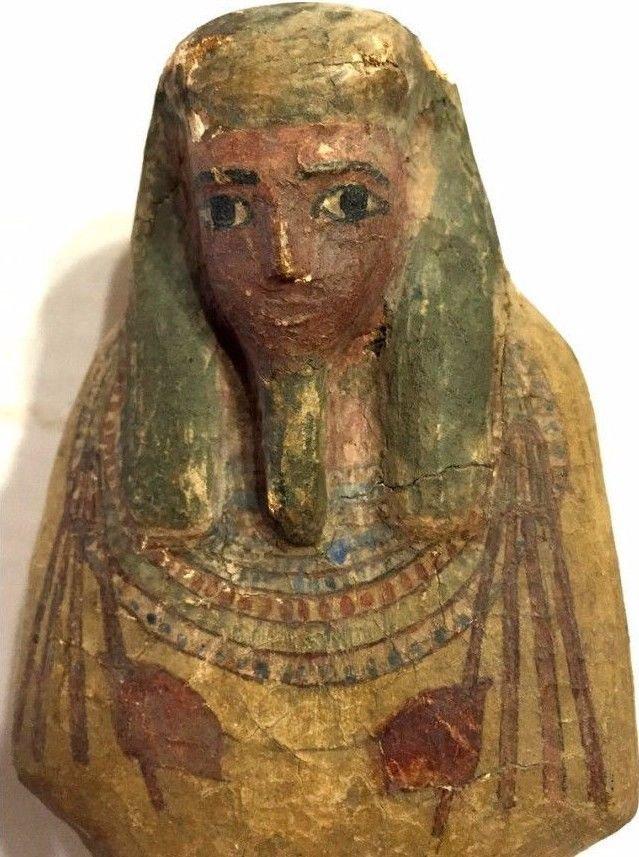 Ancient Egyptian Wood Ushabti.