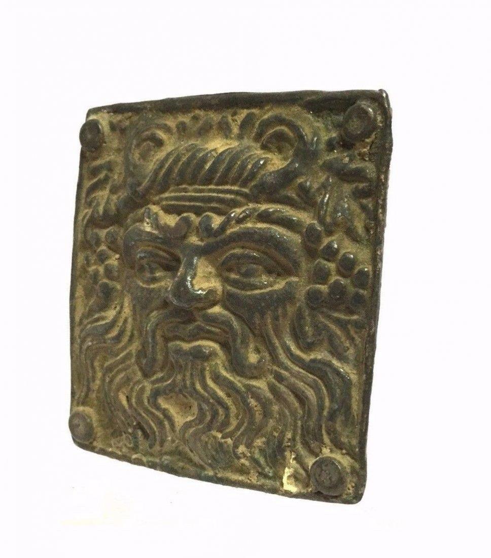 Ancient Greek Silver Buckle . - 3