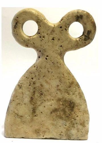Tal Barak Syria Stone 'Eye Idol. - 2