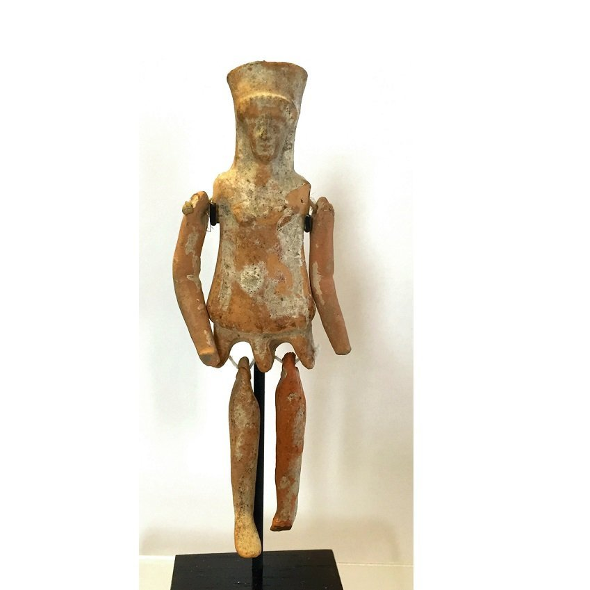 Ancient Greek Boeotian Jointed doll.