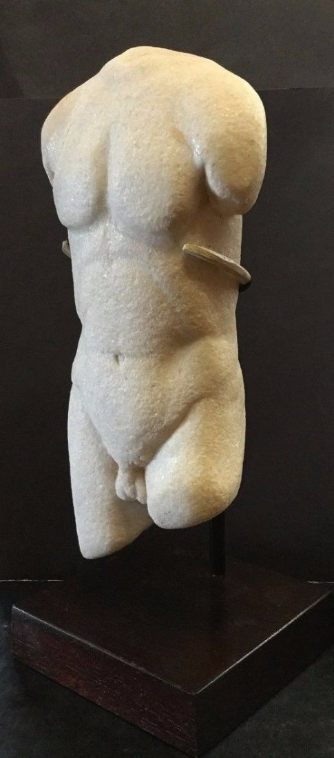 Ancient Greco -Roman  Torso of Apollo . - 4