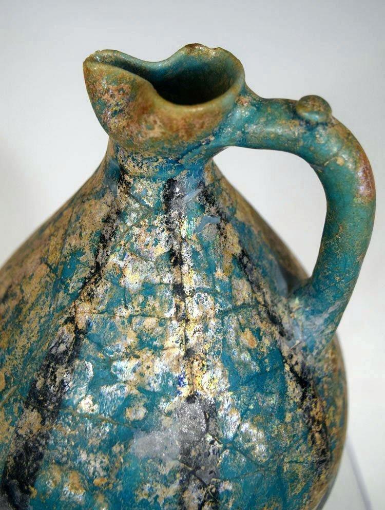 Islamic persian  Nishapur Ceramic Pitcher - 2
