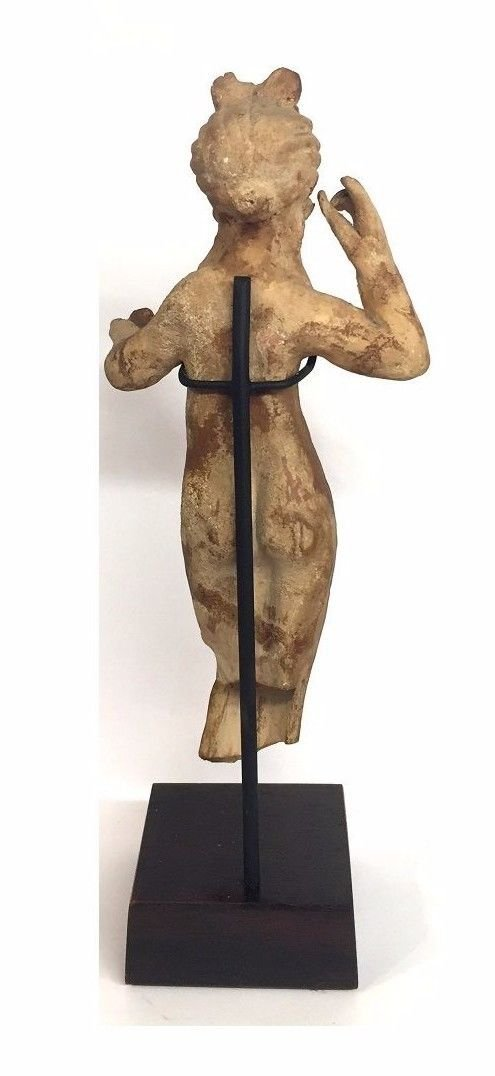 Ancient Greek Clay figurine of Aphrodite statue . - 3