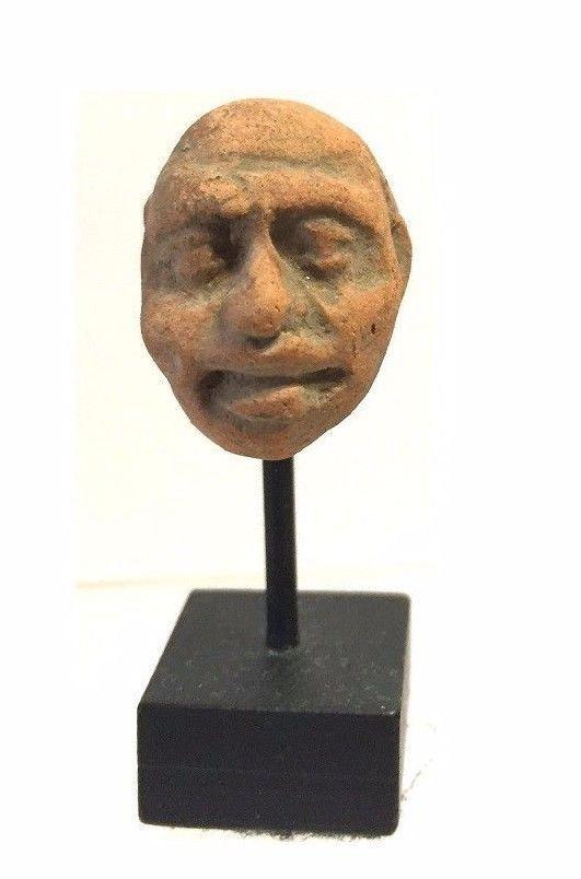 Assyrian -Hittite clay Head.