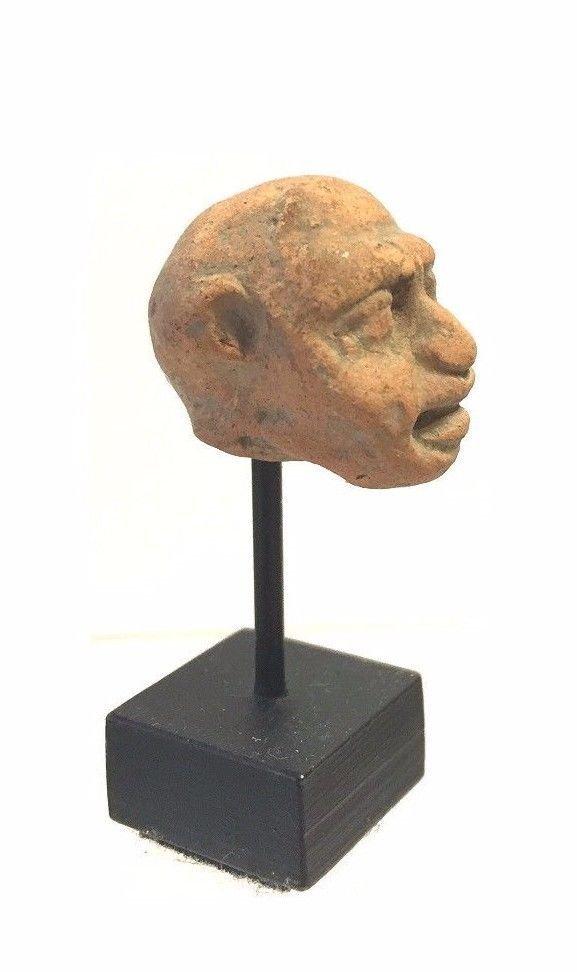 Assyrian -Hittite clay Head. - 3