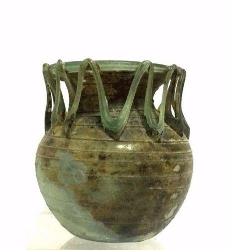 Ancient Roman Glass Jar. - 4