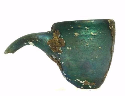 Ancient Roman Medical Glass Vessel.