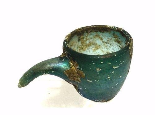 Ancient Roman Medical Glass Vessel. - 3